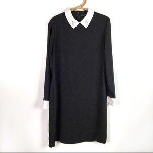 Victoria Beckham for Target | Black rabbit dress L